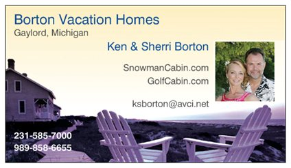 Borton Vacation Homes Gaylord Michigan